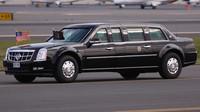 Prezidentská limuzína Cadillac, vozící současného prezidenta Baracka Obamu.