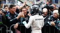 Nico Rosberg závodě v Brazílii