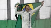 Felipe Massa v emocionálním loučení se svými fanoušky