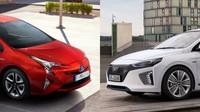 Jak by vypadaly praktické varianty Toyoty Prius a Hyundai Ioniq?