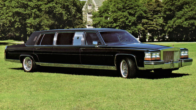 Cadillac Trump Golden Series je dost možná nejopulentnější limuzínou historie.