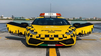 Lamborghini Huracán LP 610-4 ve službě letiště v italské Bologni