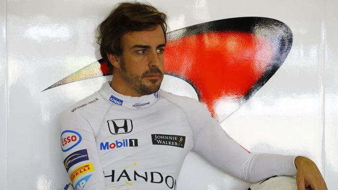 Fernando Alonso a McLaren