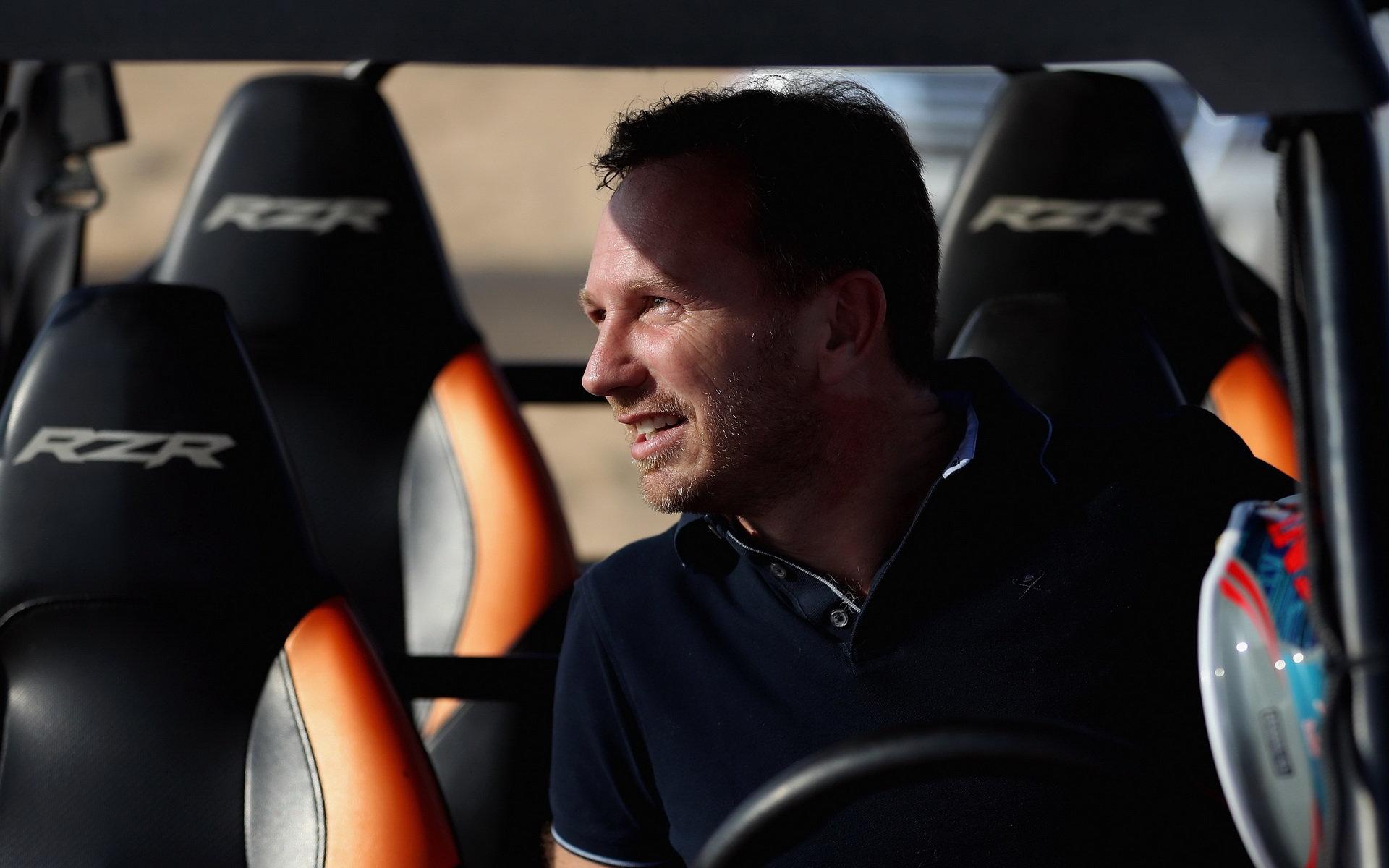 Verstappen se bude už jenom zlepšovat, myslí si Horner - anotační foto