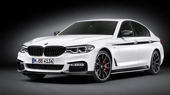 BMW řady 5 (2017) s paketem M Performance