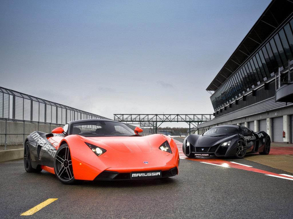 Marussia B1 a B2 v dobách své největší slávy.