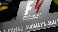 Logo F1 v Abú Zabí