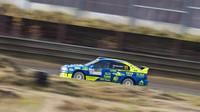 VSosnové při GPD rally cupu nejrychlejší Odložilík a Gerych - anotační foto