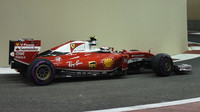 Kimi Räikkönen v kvalifikaci v Abú Zabí