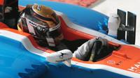 Pascal Wehrlein v kvalifikaci v Abú Zabí