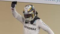 Lewis Hamilton po kvalifikaci v Abú Zabí