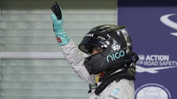 Nico Rosberg po kvalifikaci v Abú Zabí