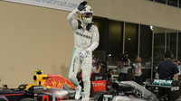 Lewis Hamilton vyhrál pole position kvalifikace v Abú Zabí