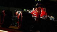 Carlos Sainz v kvalifikaci v Abú Zabí