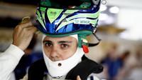 Felipe Massa ve své poslední kvalifikaci F1 v Abú Zabí