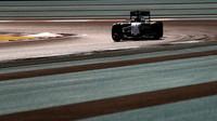 Valtteri Bottas v kvalifikaci v Abú Zabí