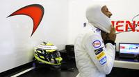 Jenson Button se připravuje na svůj poslední závod v Abú Zabí