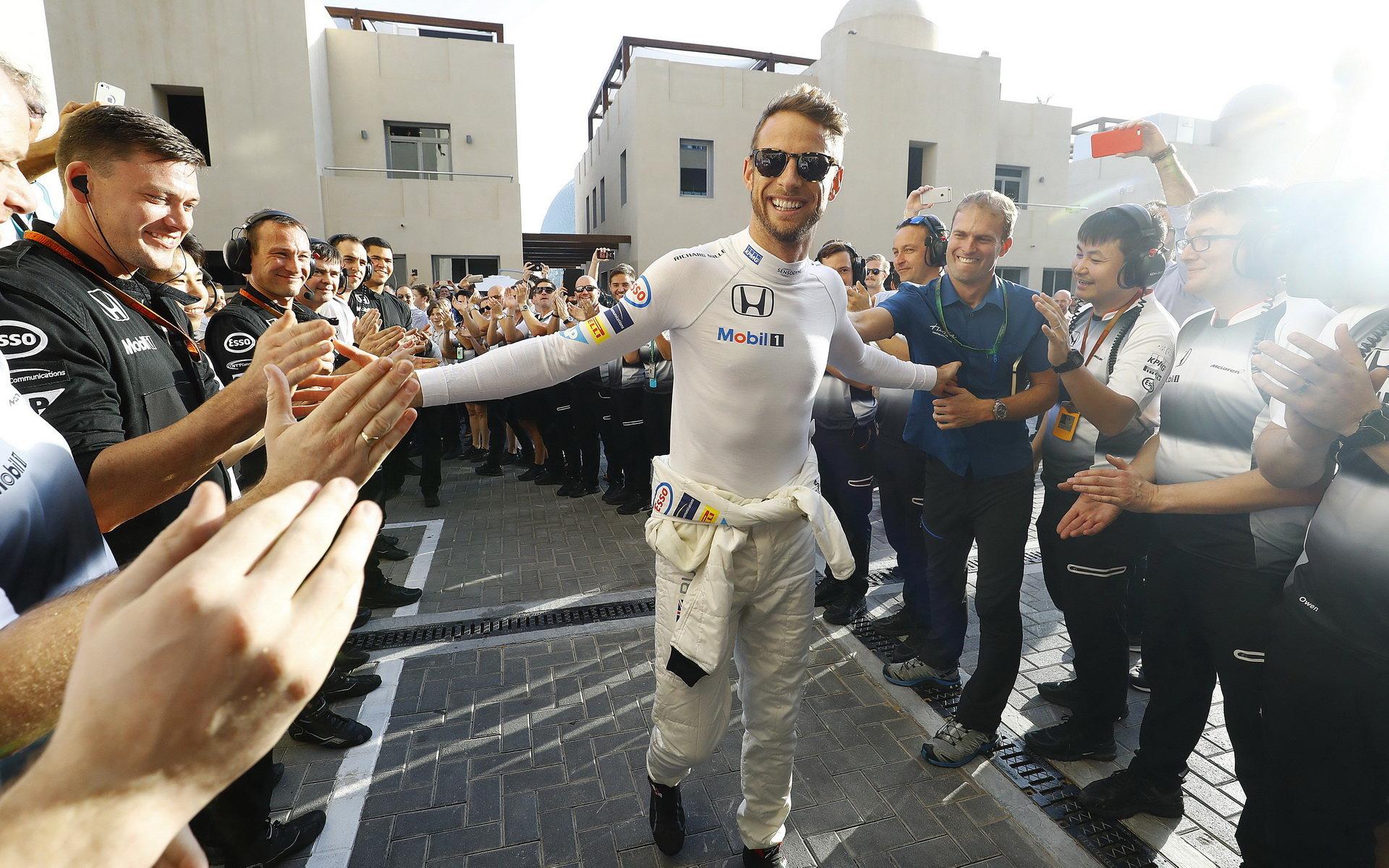 Jenson Button absolvoval poslední závod