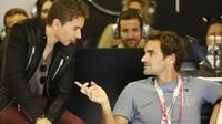 Roger Federer v Abú Zabí