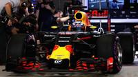 Daniel Ricciardo v kvalifikaci v Abú Zabí