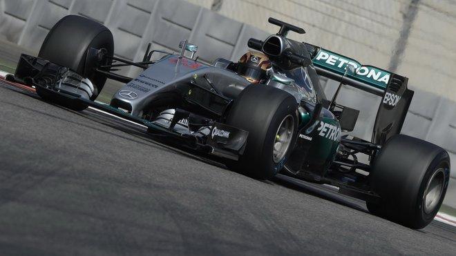 Pascal Wehrlein během posledního dne testů nových pneumatik v Abú Zabí