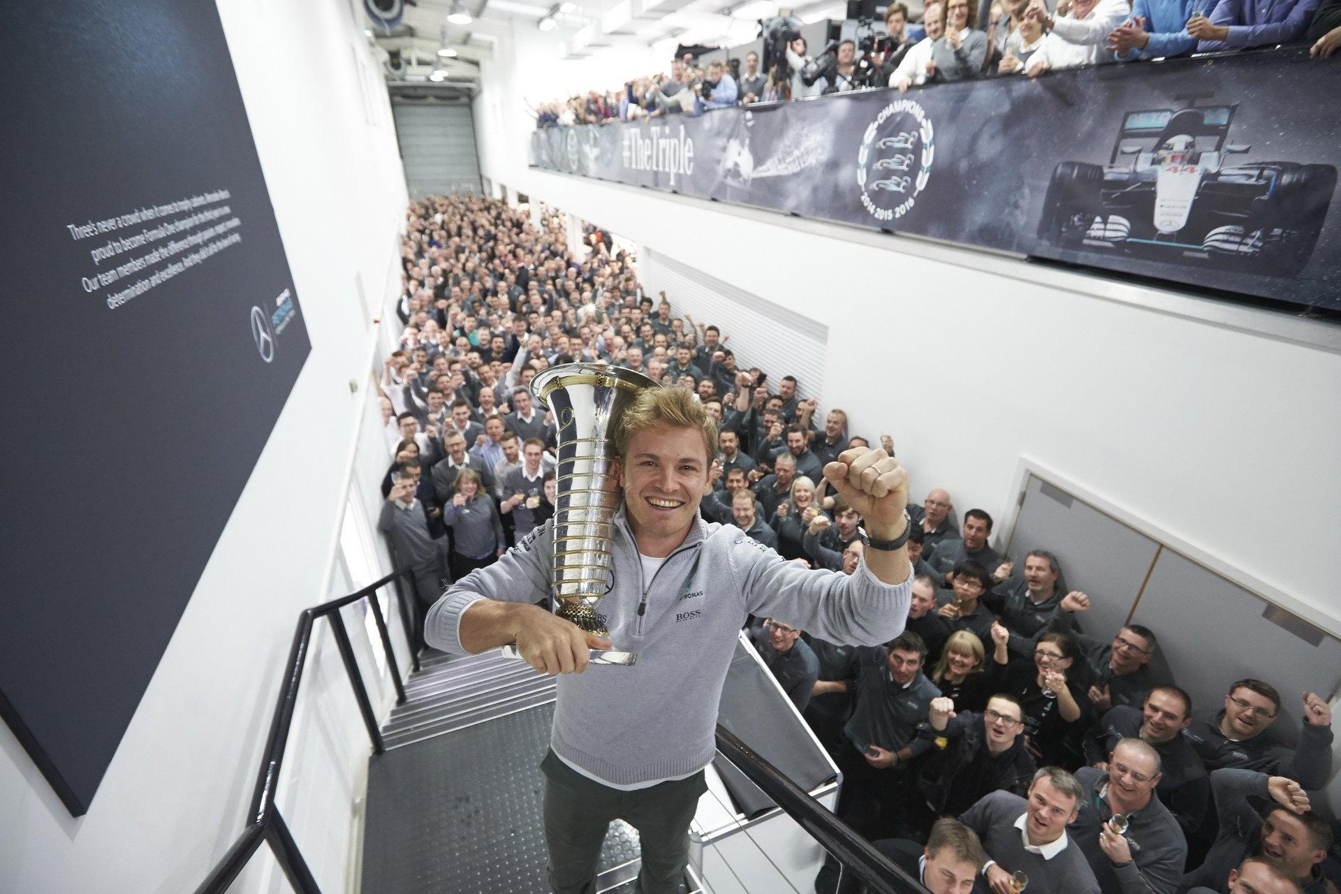 Šok: Rosberg po zisku titulu v F1 končí! - anotační foto