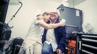 Nico Rosberg se svým otcem Kekem