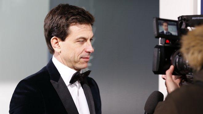 Sportovní ředitel Mercedesu Toto Wolff