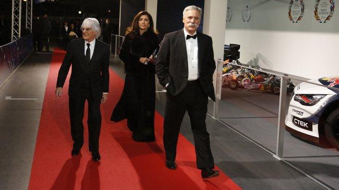"""""""Musí to pro něj být těžké a já to chápu,"""" komentuje Ecclestoneův odchod nový výkonný ředitel - anotační foto"""