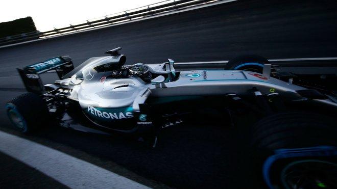 Nico Rosberg si užívá poslední chvíle v monopostu Mercedesu