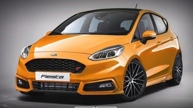 Nový Ford Fiesta ve sportovní edici ST