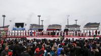 Piloti Hondy zdraví věrné fanoušky v Motegi, Honda Thanks Day 2016