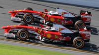 FOTO: Ferrari Finali Mondiali 2016 - Seb a Kimi řádí s vozy F1 v Daytoně