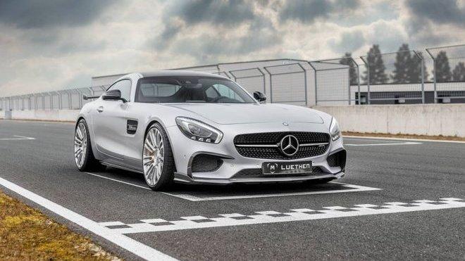 Mercedes-AMG GT S se dočkal několika úprav od chlapců z Luethen Motorsport - anotačné foto