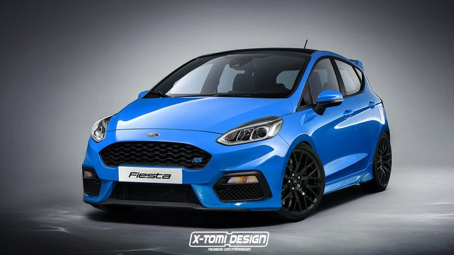 Ford Fiesta RS (2017)