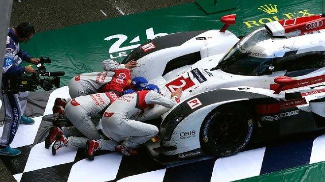 Audi R18 e-tron quattro po závodě Le Mans 2015