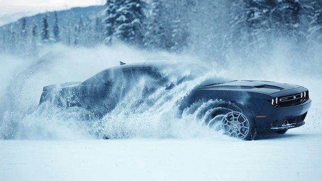 Takové zimní radovánky je lepší přenechat jen velmi zkušeným řidičům.