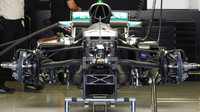 FOTO: Detaily mistrovského Mercedesu F1 W07 Hybrid pěkně zblízka