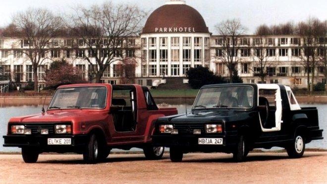 Nejbizarnější Ladu překvapivě vyrobili Němci. Je škaredá, ale neskutečně vzácná - anotační foto