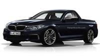 Nové BMW řady 5 v provedení pickup