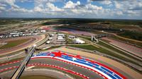 Panorama okruhu v Austinu