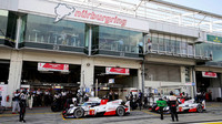 Vozy týmu Toyota Gazoo Racing bojují na Nürburgringu