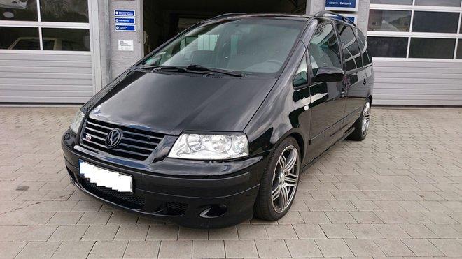 Volkswagen Sharan s benzinovým šestiválcem dostal pořádnou porci koní navíc