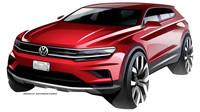 První náčrtky Volkswagenu Tiguan Allspace