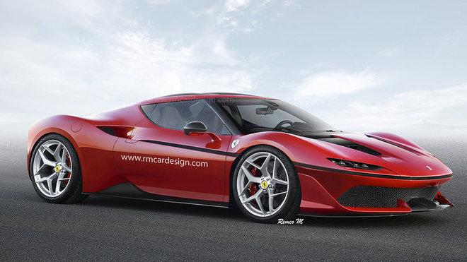 Exkluzivní Ferrari J50 s pevnou střechou