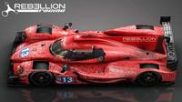Prototyp Oreca 07 kategorie LMP2 týmu Rebellion Racing pro sezónu 2017