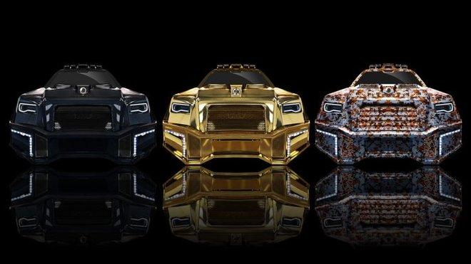 Dartz Prombron Black Alligator je nejopulentnějším automobilem současnosti.