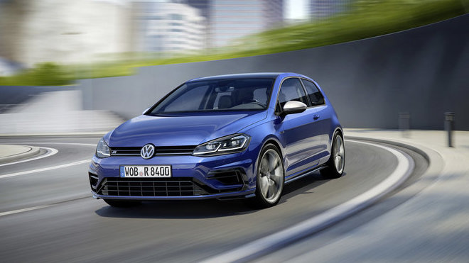 Volkswagen Golf R posílil, i díky tomu je tak rychlejší.