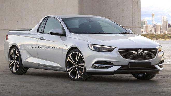 Opel Insignia jako pickup? A proč vlastně ne! - anotačné foto