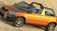 Škoda Yeti Cabrio nebo Yeti II mohla o několik let předběhnout otevřený Evoque.